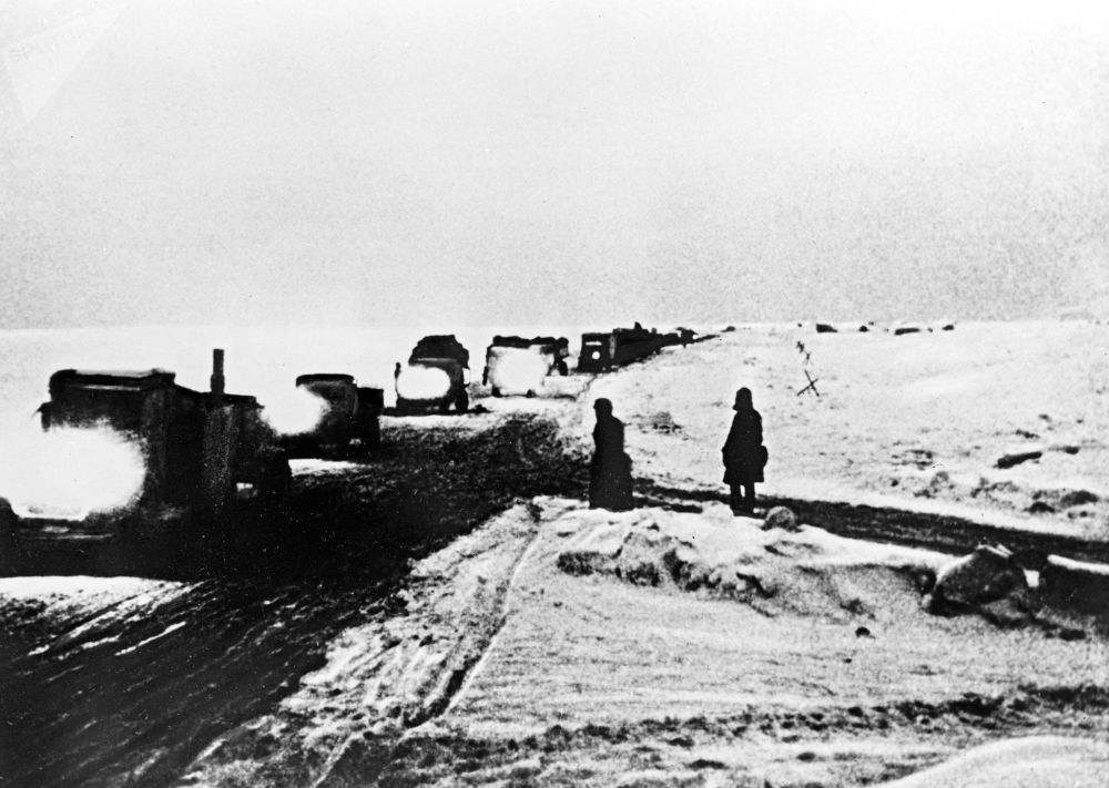«La route de la vie»: comment les habitants de Leningrad ont été sauvés pendant le siège