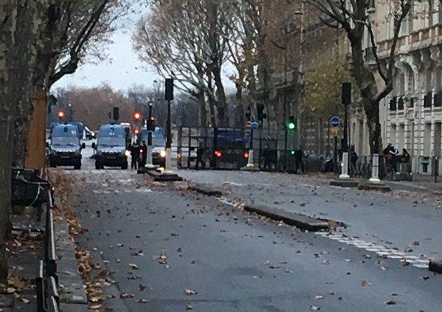 dispositif policier à Paris le 24 novembre