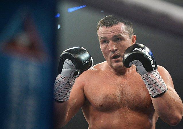 Le boxeur russe Denis Lebedev