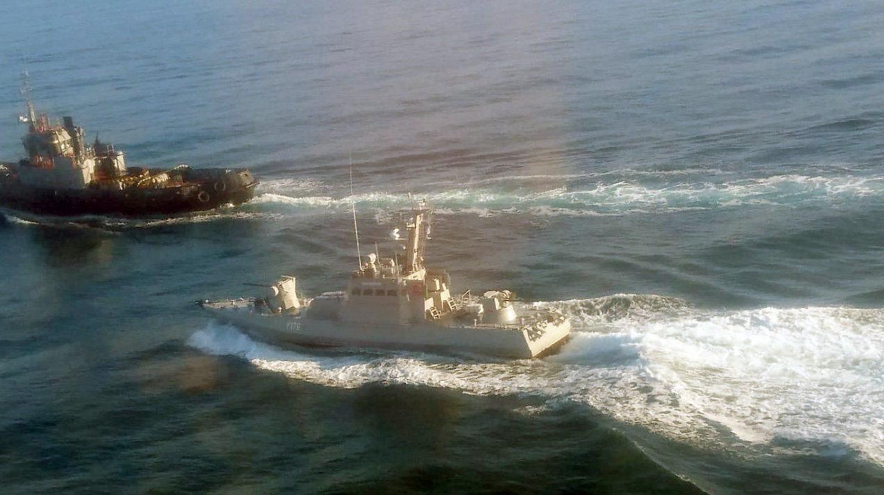 La Russie capture trois navires ukrainiens en mer Noire
