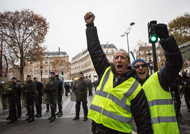Des gilets jaunes / image d'illustration