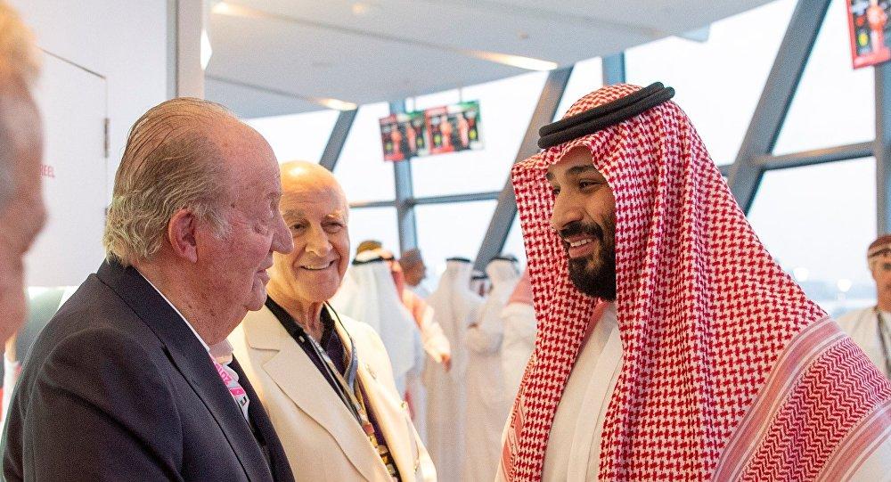 L'ancien roi d'Espagne fustigé pour sa photo en compagnie du prince saoudien