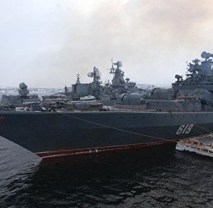 Un navire russe (Image d'illustration)