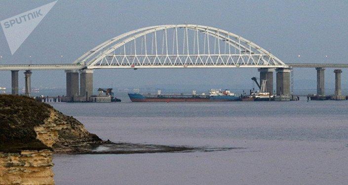 Le détroit de Kertch a été provisoirement fermé aux bateaux civils à des fins de sécurité