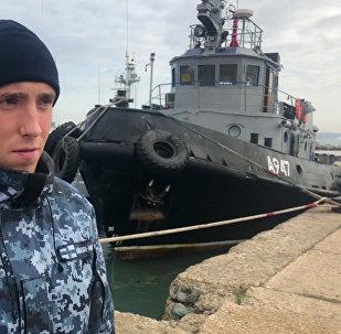 Le matelot ukrainien Sergueï Tsybizov