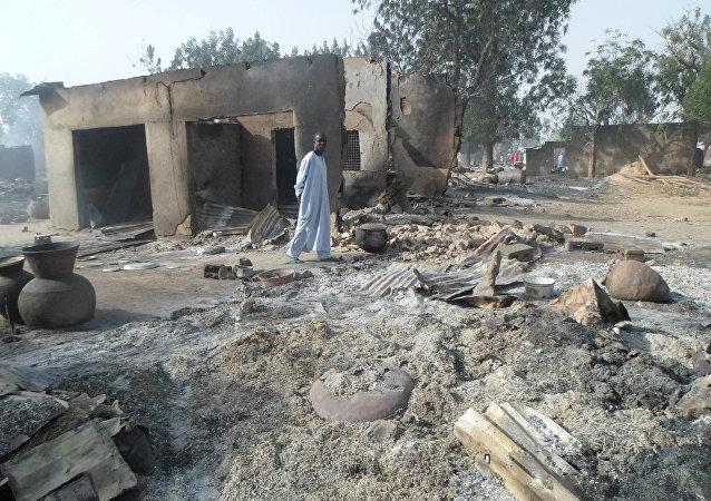 Un village nigérian attaqué par Boko Haram (archive photo)