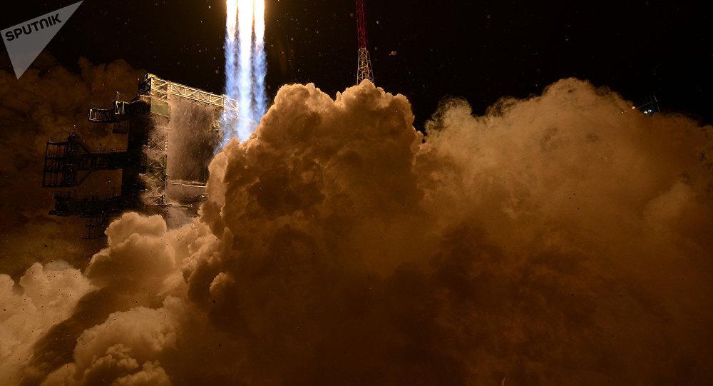 Lancement d'une fusée porteuse (image d'illustration)