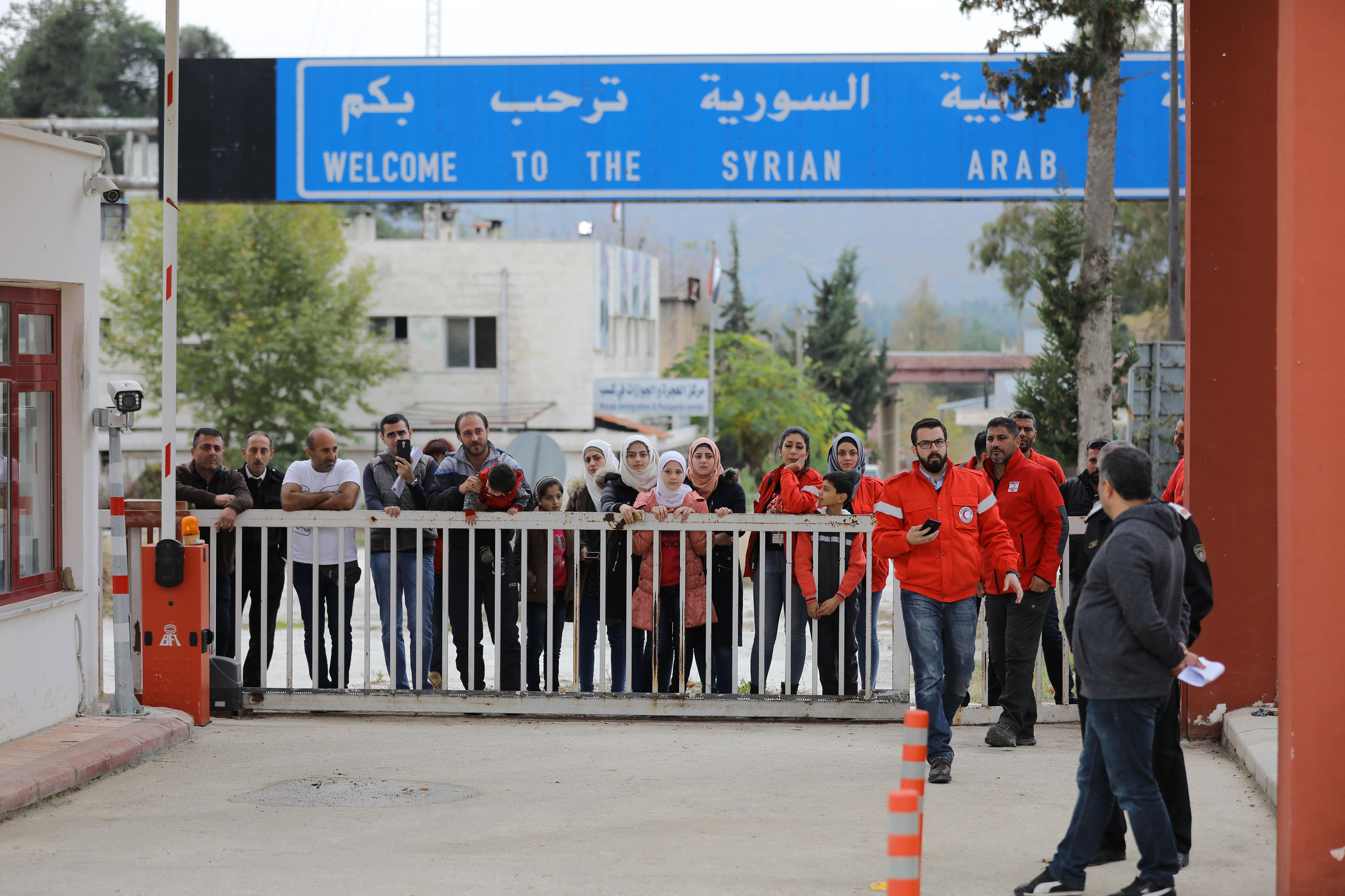 Le Croissant-Rouge syrien a rapatrié Ilaf, adolescente enlevée par des radicaux