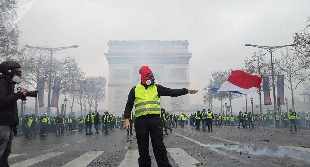 Gilets jaunes le 1er décembre à Paris