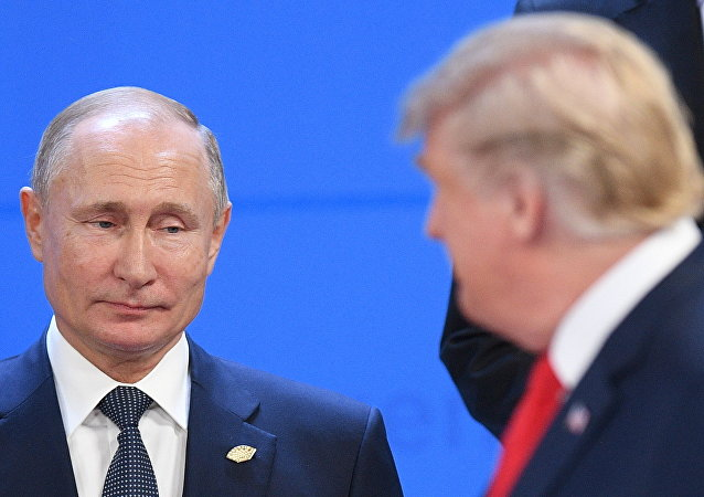 Vladimir Poutine et Donald Trump en Argentine