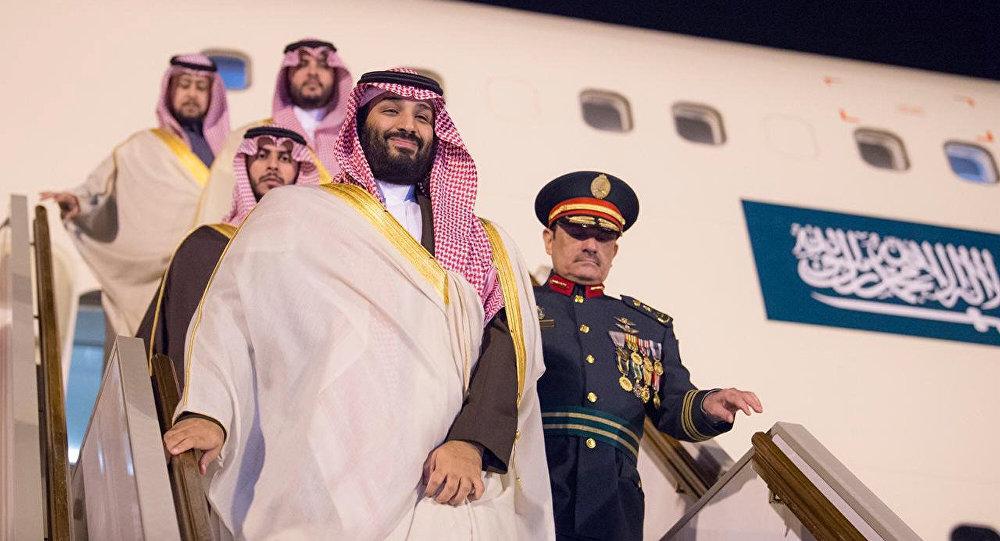 Mohammed ben Salman en visite officielle en Algérie