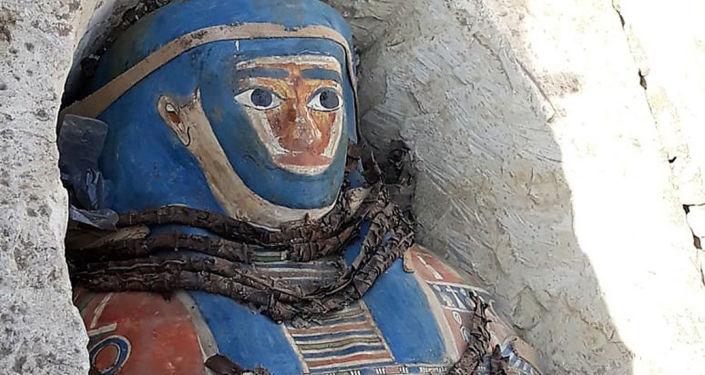 Le sarcophage de l'Égypte antique