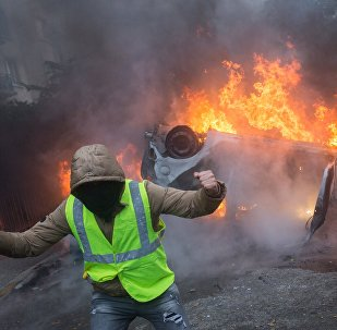Gilets jaunes le 1er décembre 2018 à Paris