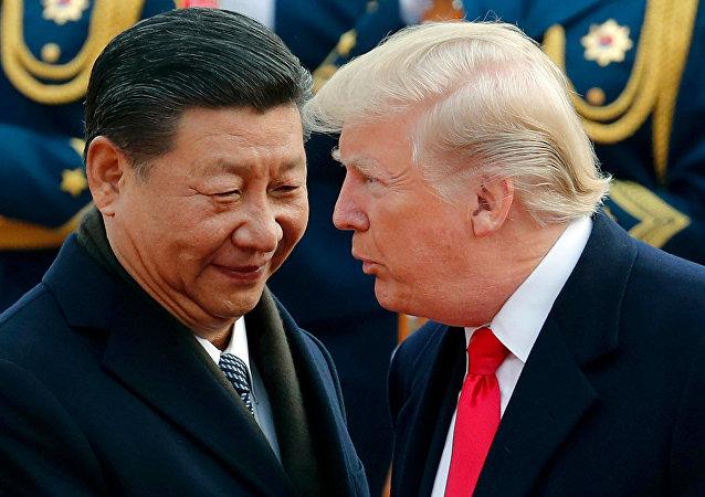 Xi Jinping et Donald Trump