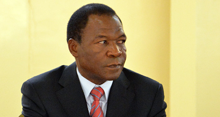 François Compaoré (archive photo)