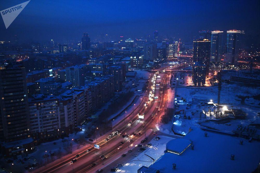 -30°C: les grands froids à Novossibirsk