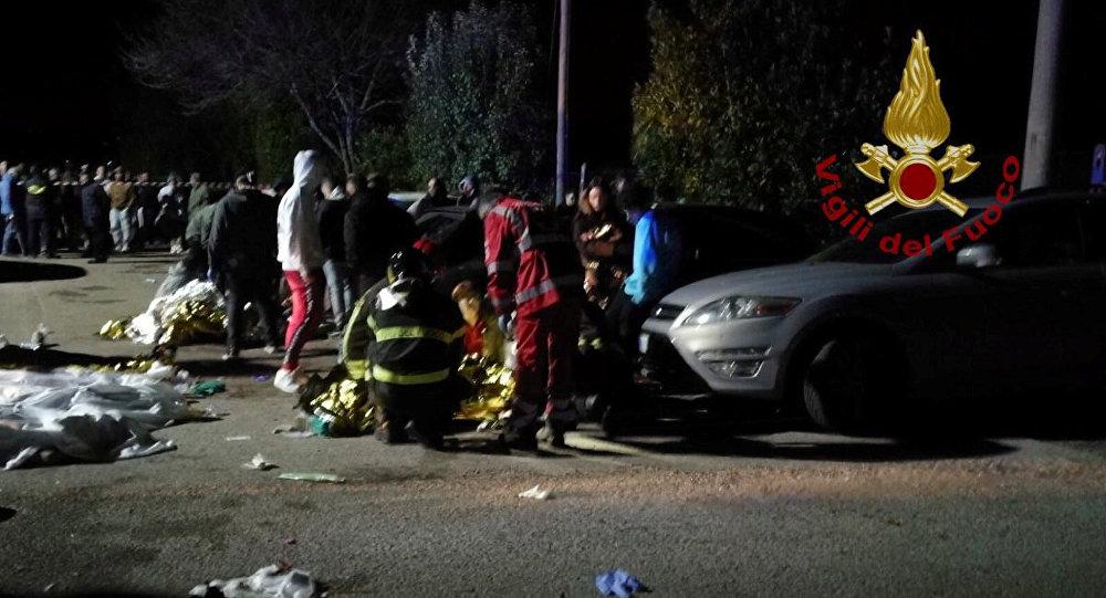Italie : six morts dans une discothèque suite à un mouvement de foule