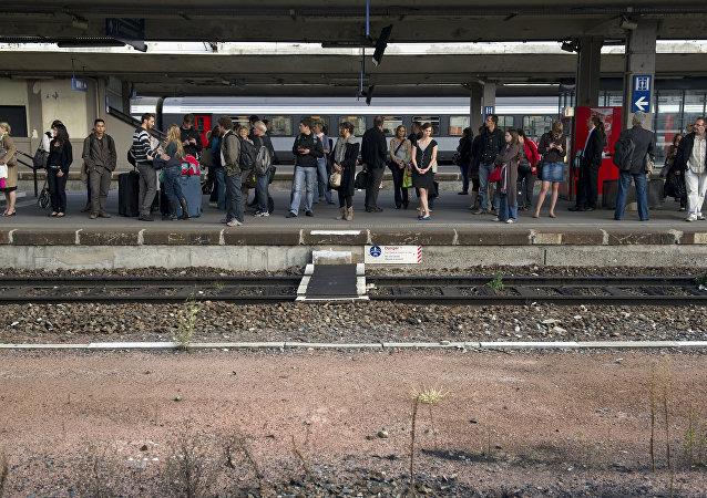la gare de Mulhouse