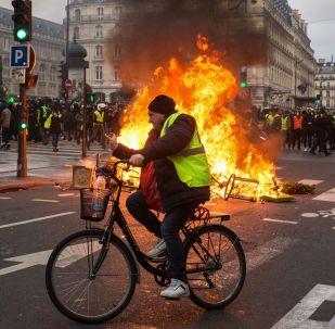 Manifestations des Gilets jaunes à Paris