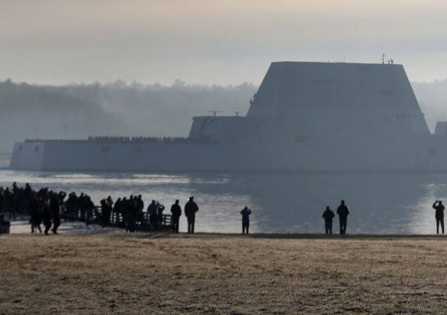 Un destroyer US du projet Zumwalt