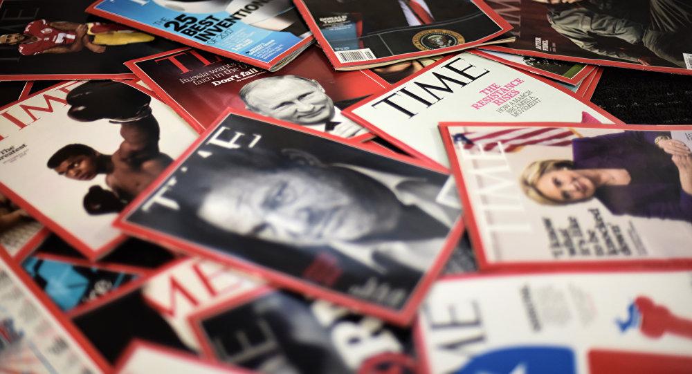 Une des Time Magazine (image d'illustration)
