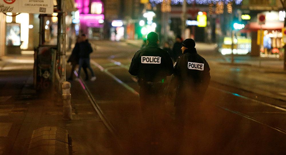 Police sur les lieux de la fusillade