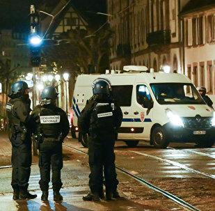 Police à Strasbourg