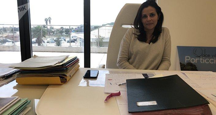 Valérie Bozzi (Les Républicains), élue de l'Assemblée de Corse