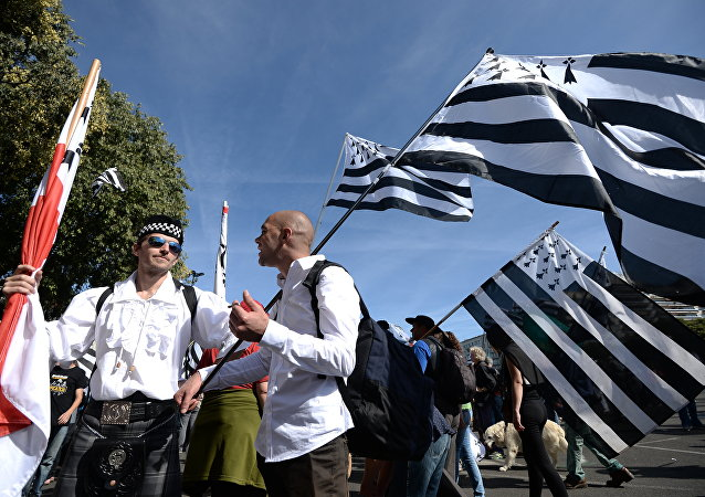 Drapeaux bretons