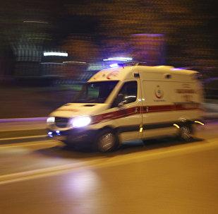 Une ambulance turque