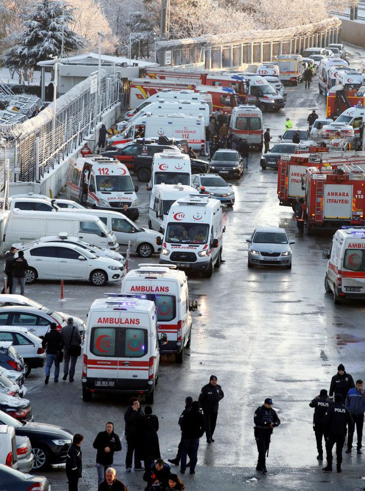 L'accident d'un TGV à Ankara
