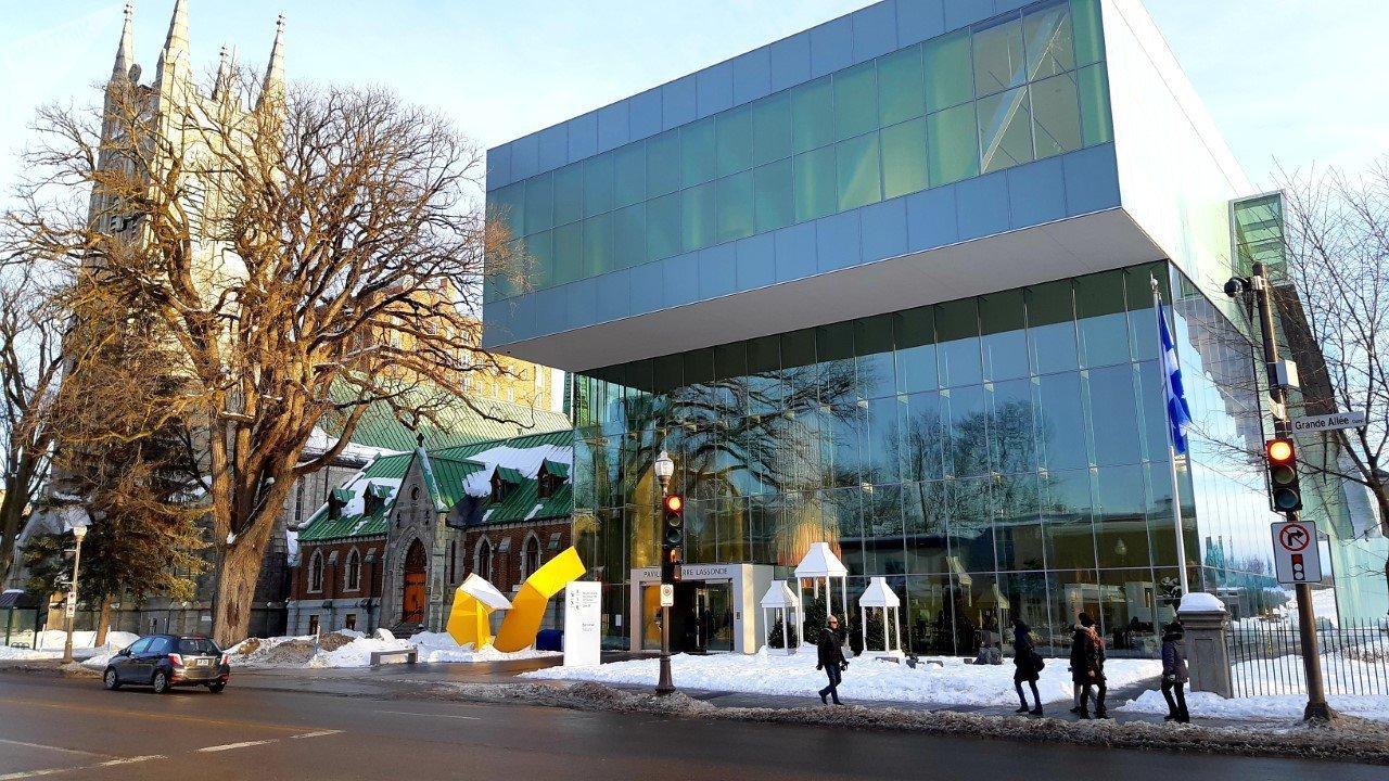 Le pavillon Pierre-Lassonde du Musée national des beaux-arts du Québec