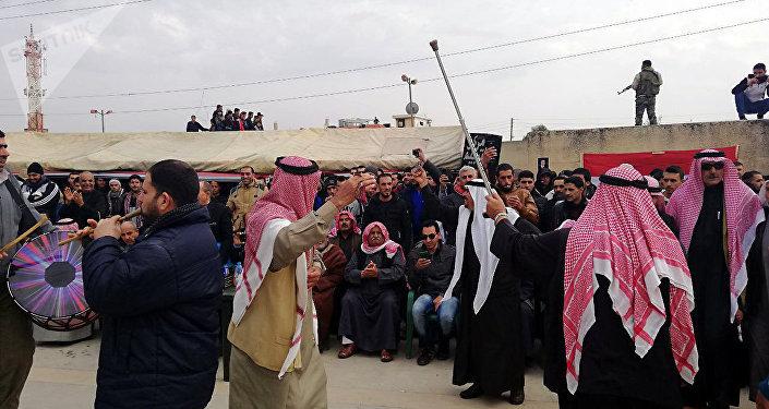 Célébrations à Deraa