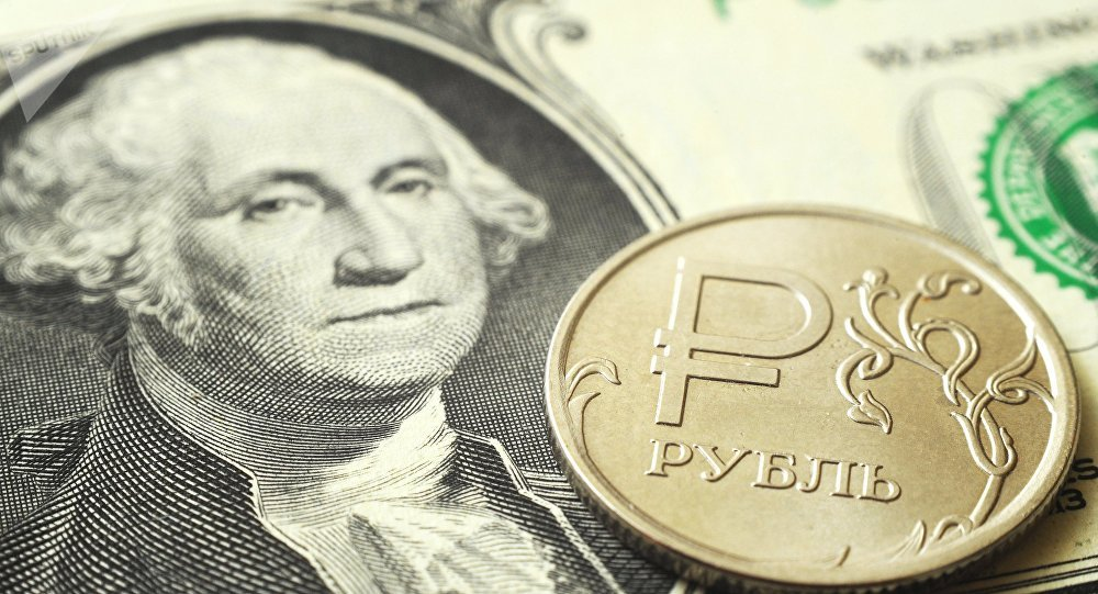 rouble-dollar