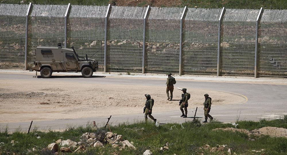 Des soldats israéliens dans le Golan occupé par Israël