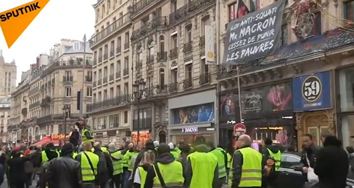 L'acte 6 des Gilets jaunes se poursuit à Paris