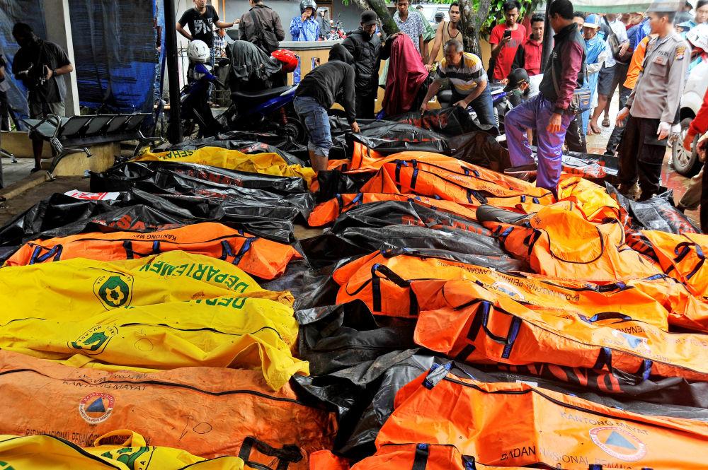 Les conséquences du tsunami dévastateur en Indonésie