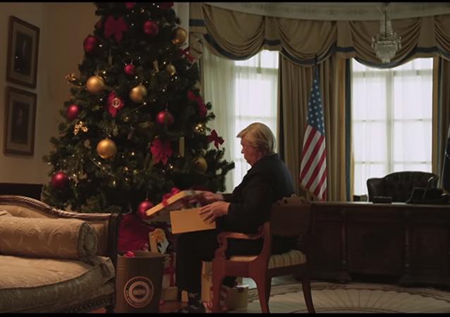 «L'ingérence» du Noël russe à la Maison-Blanche