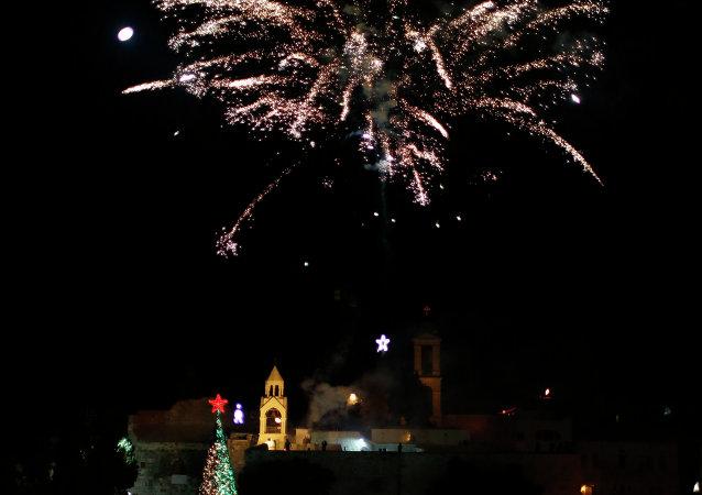 Des célébrations de Noël à Bethléem