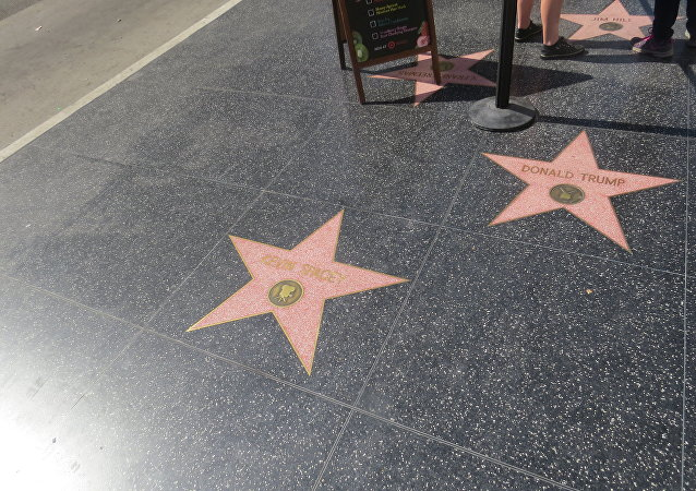 étoile de Donald Trump à Hollywood
