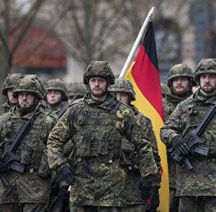 Des soldats de la Bundeswehr en Lituanie (photo d'archives)