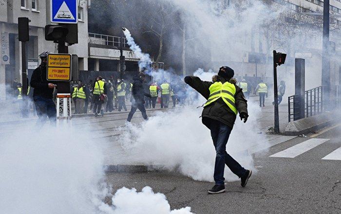 L'acte 7 des Gilets jaunes à Paris, 29 décembre 2018 (image d'archives)