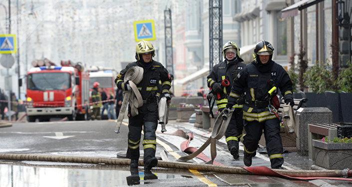 Pompiers russes
