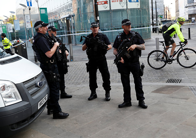 Police à Manchester
