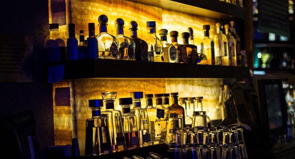 Des bouteilles de tequila