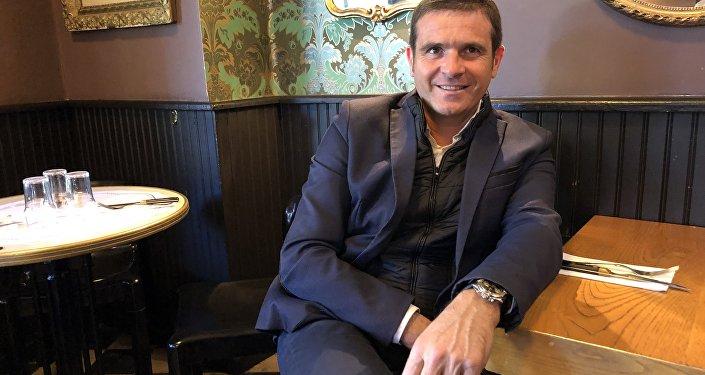 Jean-Martin Mondoloni, conseiller territorial et président du groupe « Per l'avvene » à l'Assemblée de Corse