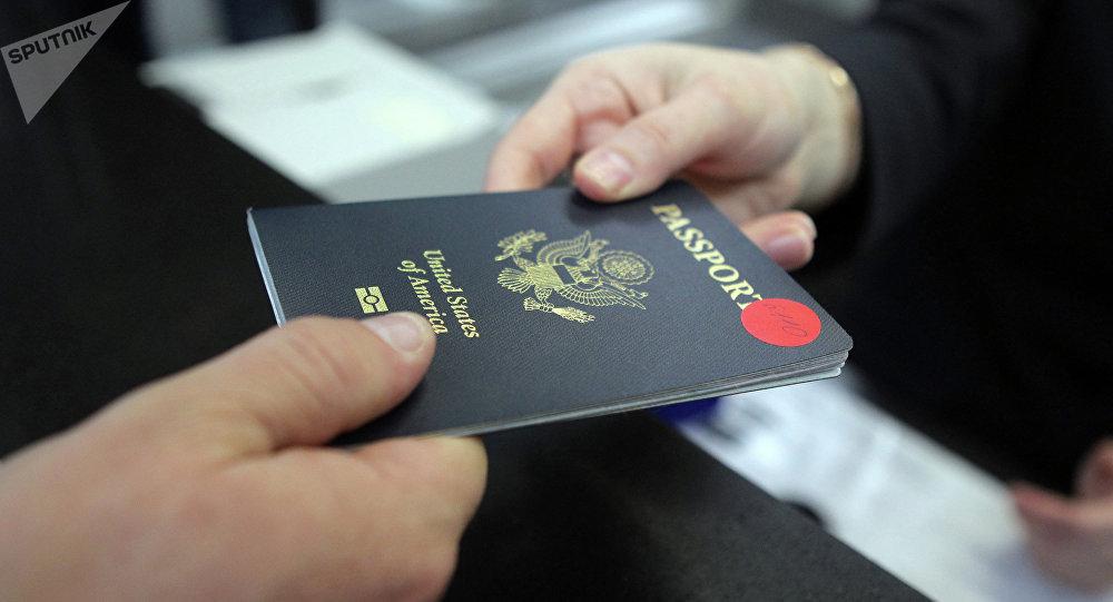 Passeport américain