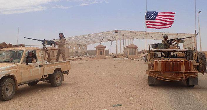 Al-Tanf, base militaire des États-Unis en Syrie