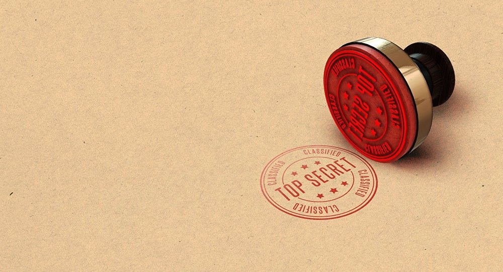 Top secret (image d'illustration)