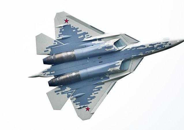 Le chasseur russe de cinquième génération Su-57